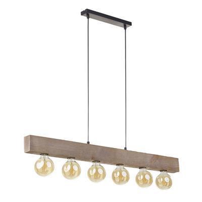 Závěsné svítidlo ARTWOOD - 2, světlé dřevo - 1
