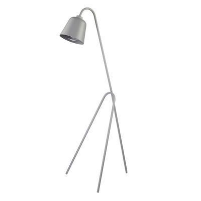 Stojací lampa Lami, šedá - 1