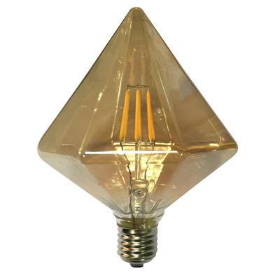 LED žárovka Filament Tron E27 6W, Jantar