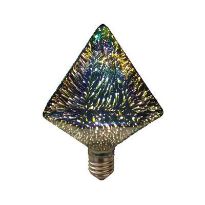 LED žárovka 3D PYRAMID E27 4W - stmívatelná - 1