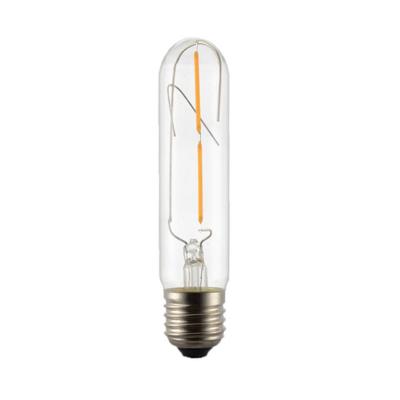 LED žárovka Filament Tube E27 4W - S, čirá - 1