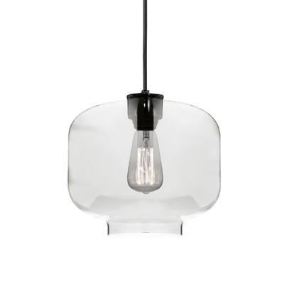 Závěsné svítidlo Glassy - 5, čiré sklo - 1