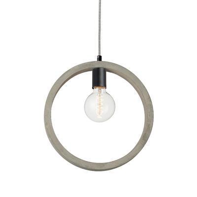 Závěsné svítidlo Cement Ring - 1