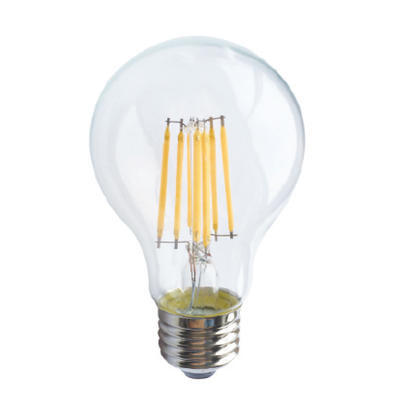 LED žárovka Filament E27 6W Stmívatelná, Studená bílá