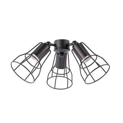 Světelný set pro ventilátor Aloha/Yakarta - hnědý