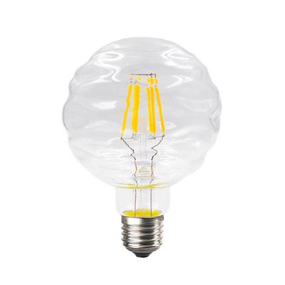 LED žárovka Filament Waft E27 6W, Čirá - 1