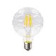 LED žárovka Filament Waft E27 6W, Čirá - 1/2