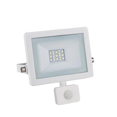 LED reflektor 10W s pohybovým čidlem - bílý - 1