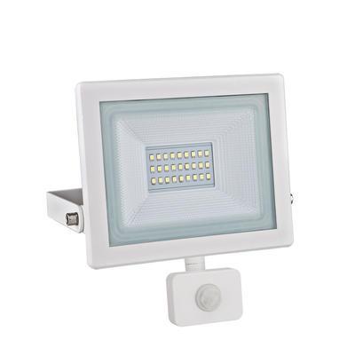 LED reflektor 20W s pohybovým čidlem - bílý - 1
