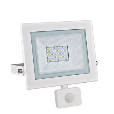 LED reflektor 30W s pohybovým čidlem - bílý - 1