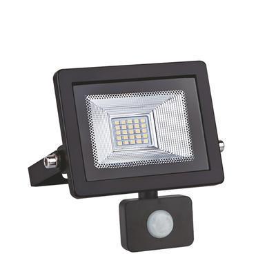 LED reflektor 10W s pohybovým čidlem - černý - 1