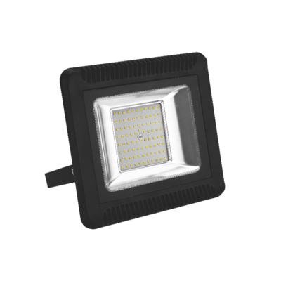 LED reflektor 100W černý, Teplá bílá - 1