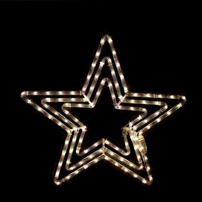 Vánoční venkovní LED dekorace Hvězda - 4 WW