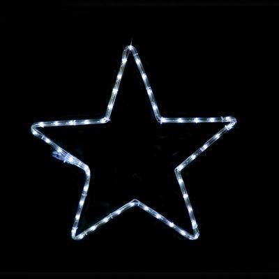 Vánoční venkovní LED dekorace Hvězda - 1 CW