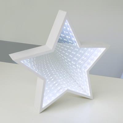 Vánoční LED dekorace Hvězda - zrcadlová
