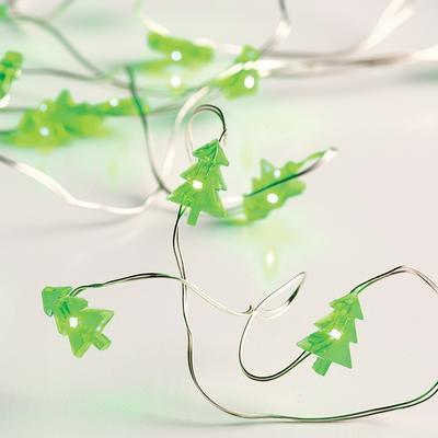 Vánoční LED řetěz Stromky - 2m