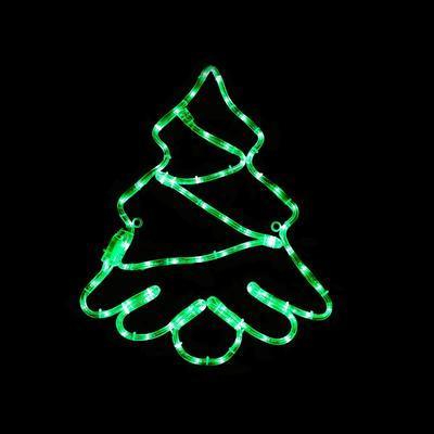Vánoční venkovní LED dekorace Strom - 1