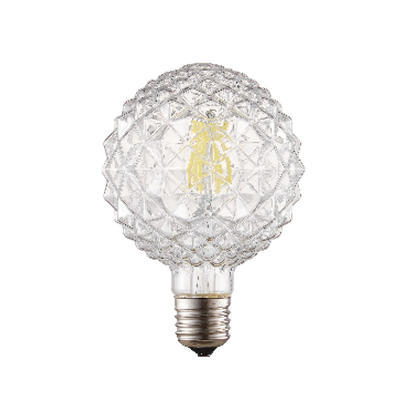 LED žárovka Filament Ziv E27 6W, Čirá - 1