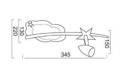 Dětské svítidlo Comet - 1 - 2
