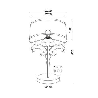 Stolní lampa Lily - 2