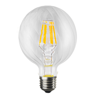 LED žárovka Filament Bria E27 6W, Čirá - 2