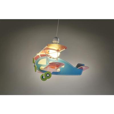 Dětské závěsné svítidlo Baby Plane - modrá - 2
