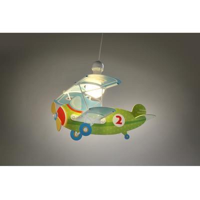 Dětské závěsné svítidlo Baby Plane - zelená - 2