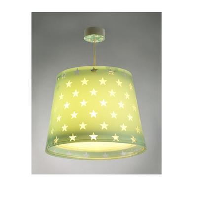 Dětské závěsné svítidlo Stars, zelená - 2