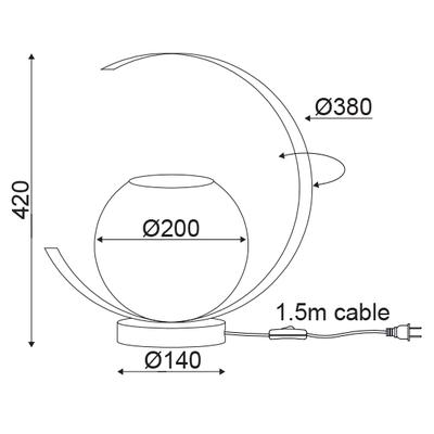 Stolní lampa Big C - 2