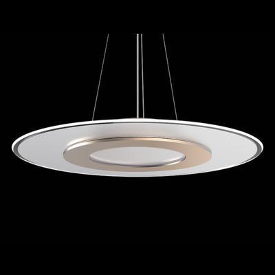 Závěsné LED svítidlo Dalen 2D Gold - 2