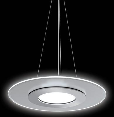 Závěsné LED svítidlo Dalen 2D Silver - 2