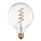 LED žárovka Filament spiral E27 O125 6W, Jantar - 2/2