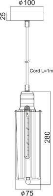 Závěsné svítidlo Mini Cage - 3 - 2
