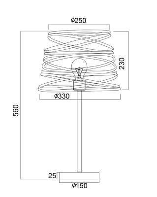 Stolní lampa Ribbon - 2