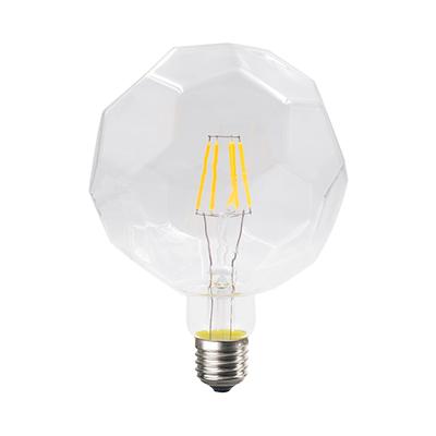 LED žárovka Filament Lig E27 6W, Čirá - 2
