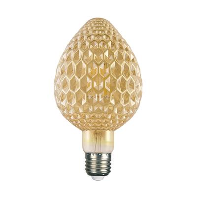 LED žárovka Filament Mava E27 6W, Jantar - 2