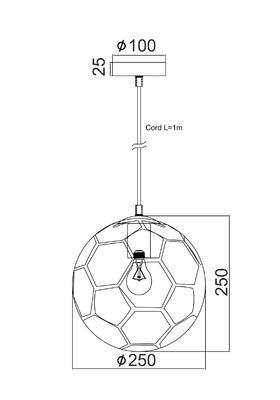 Dětské svítidlo Football - 2
