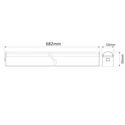 Nástěnné LED svítidlo Miral - 1 - 2