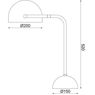 Stolní lampa Noir - 2