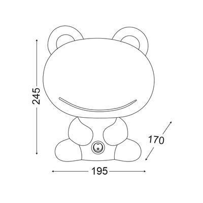 Dětská lampička Frog - 2