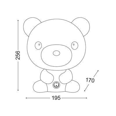 Dětská lampička Teddy - 2