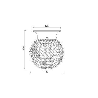 Stropní/nástěnné svítidlo Collar - 3 - 2