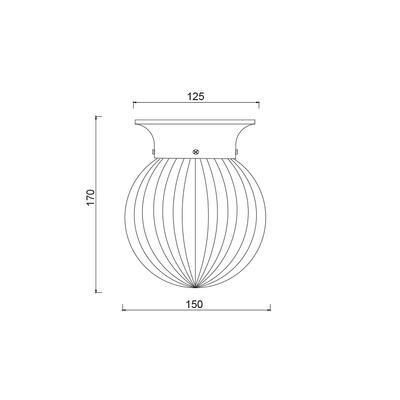 Stropní/nástěnné svítidlo Collar - 2 - 2