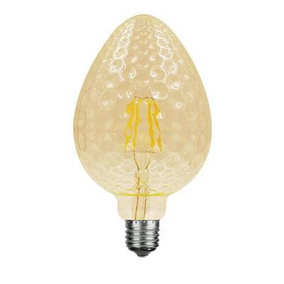 LED žárovka Filament Tera E27 6W, Jantar - 2