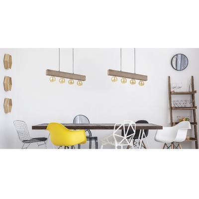 Závěsné svítidlo ARTWOOD - 1, světlé dřevo - 2