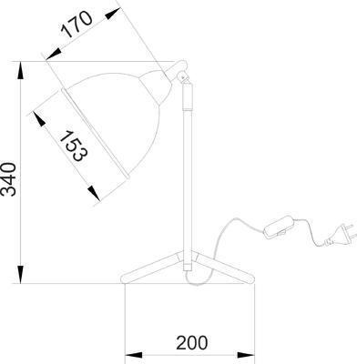 Stolní lampa Tin - 2