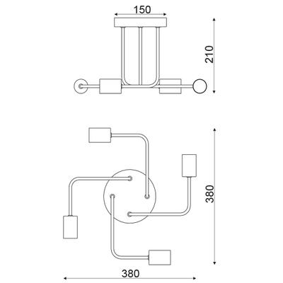 Závěsné svítidlo Junction - 1 - 2