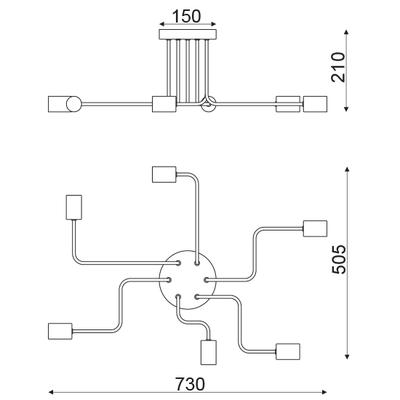 Závěsné svítidlo Junction - 2 - 2