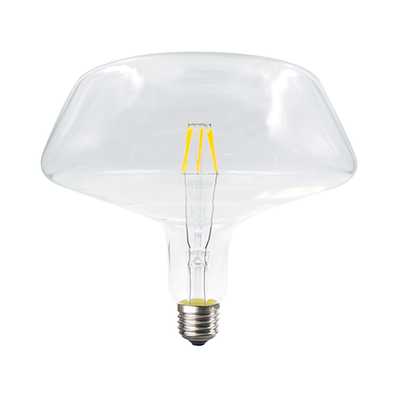 LED žárovka Filament Torpa E27 6W, Čirá - 2