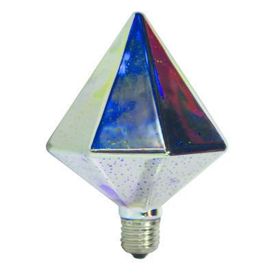 LED žárovka 3D PYRAMID E27 4W - stmívatelná - 2